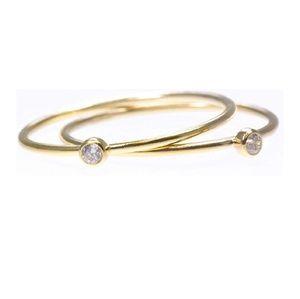14k gold diamond rings